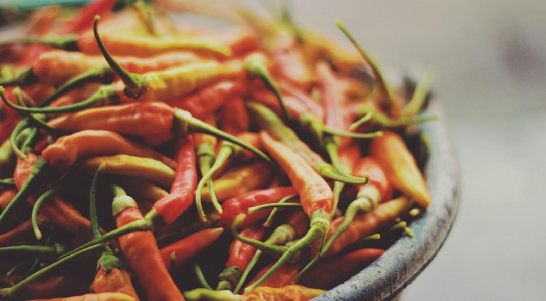 Os benefícios da comida picante